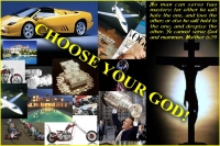 choose your God Matthew 6:24